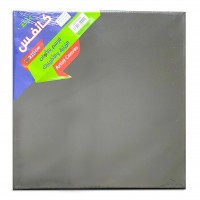 Canvas Board Black 30x30cm