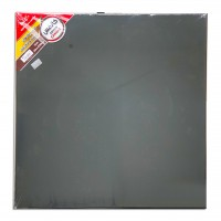 Canvas Board Black 50x50cm