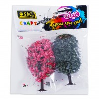 Egg Tree 2PC Assorted Colour Set