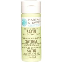 MARTHA STEWART MULTI SURFACE PAINT SATIN 2 OZ. SCALLION
