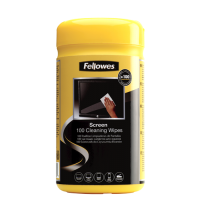 Fellowes SCREEN CLENING WIPES TUB - 100 wipes