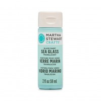 Martha Stewart Sea Glass Paint 20z. Sea Lavender