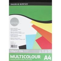 Simply Colour Pad A4 120G 21SH