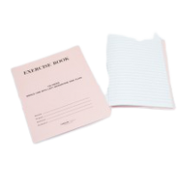 Notebook Single Line with One Side Plain 200 Pages (interleaf)