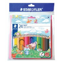 Staedtler Coloring Pencil144-NC24 with Sticker&Coloring book