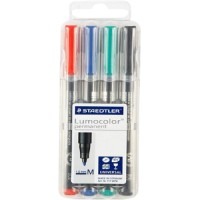 Staedtler Lumocolor OHP Permanent Pen M (317-WP4-M)