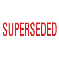 Self Ink Stamp - Superseded
