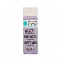 Martha Stewart Sea Glass Paint 20z. Sweet Pea