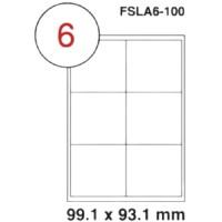 MULTI PURPOSE WHITE LABEL-99.1X93.1-FSLA6-100