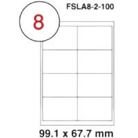 MULTI PURPOSE WHITE LABEL-99.1X67.7mm-FSLA8-2-100