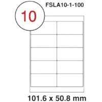 MULTI PURPOSE WHITE LABEL-101.5X50.8mm-FSLA10-1-100