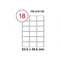 MULTI PURPOSE WHITE LABEL-63.5X46.6-FSLA18-100