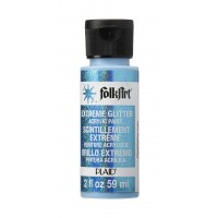 Folkart EXTREME GLITTER Multi Surface Paints TURQUOISE