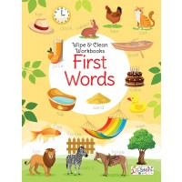 PEGASUS-WIPE & CLEAN WORKBOOK FIRST WORDS