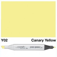Y 02 CANARY YELLOW COPIC MARKER