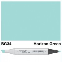 BG 34 HORIZON GREEN COPIC MARKER