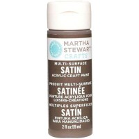 MARTHA STEWART MULTI SURFACE PAINT SATIN 2 OZ. VANILLA BEAN