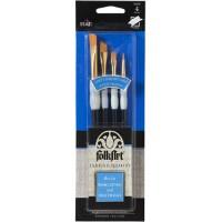 Flokart Soft Grip Detail Brush Set 4size