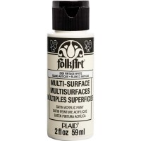 FOLKART MULTI-SURFACE Paint - VINTAGE WHITE