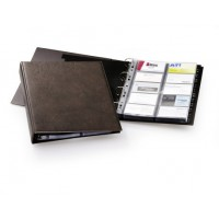 Business Card File Durable Visifix A4 Size for 400cards