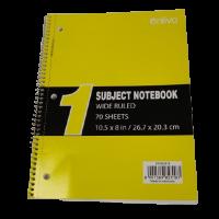 Enlivo 1 Subject Notebook