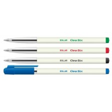 Pen Dollar Clearstic Ballpen