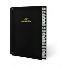 Signature book (FIS) - 1 to 16