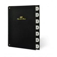 Signature book (FIS) -1 to 7