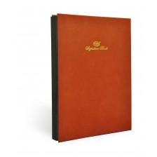 Signature Book (FIS) - 20 Division plain