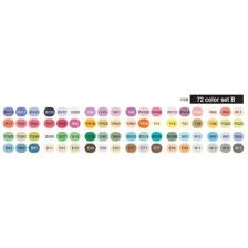 Copic Ciao Set of 72pc - Set B colors