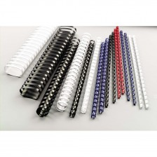 Comb Binding Spiral 10mm Plastic