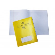 NoteBook 80 pgs Single Line with Left Margin