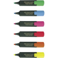 Highlighter Fabercastell MULTI COLOUR PACK OF 6