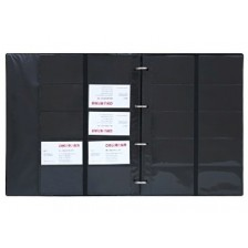 Business Card File A4 Size - 600cards