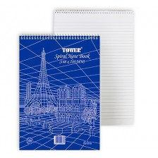 Writing pad Tower A4 Size with Topspiral