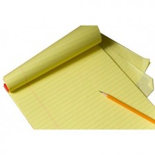 Legal Writing Pad A4 Size Yellow