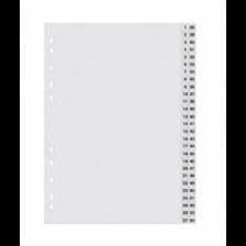 DIVIDER (1-54)Pvc Gray A4