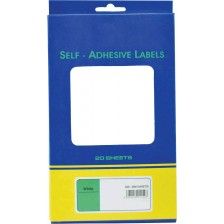 SELF ADHESIVE OFFICE LABEL-25X100mm