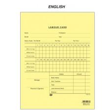 Labour Card - English