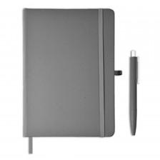 AMS -GSGL 205 Giftology Libellet – A5 Notebook with Pen Set (Slate Grey)