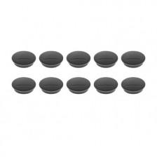 MAGNETOPLAN MAGNETIC – DISCOFIX  (Size 9mm, Dia 34mm) 10Pcs/ Packet BLACK