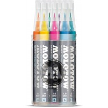 MOLOTOW™ GRAFX Aqua Ink Softliner Main Kit 1