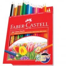 Pencil Colour Fabercastell 24 Colour Pencils