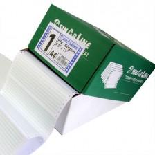 "Computer Paper 15.31"" * 11 Green Bar 1 Ply"