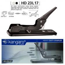 Kangaro Heavy Duty Stapler Long Throat - HD23L17 (140 Sheets capacity)
