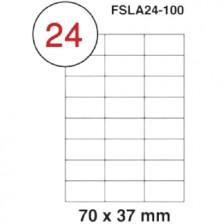 MULTI PURPOSE WHITE LABEL-70X37mm-FSLA24-100