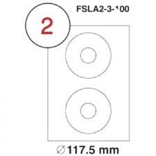 MULTI PURPOSE WHITE LABEL-117.5mm-FSLA2-3-100