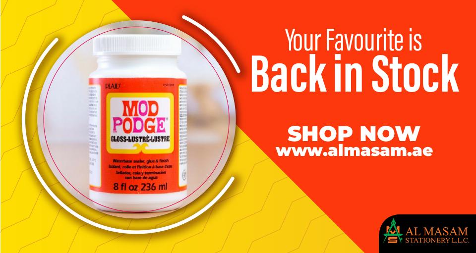 ModPodge (Back In Stock)