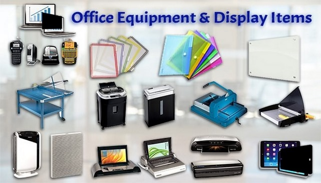 Office Equipment & Display Items