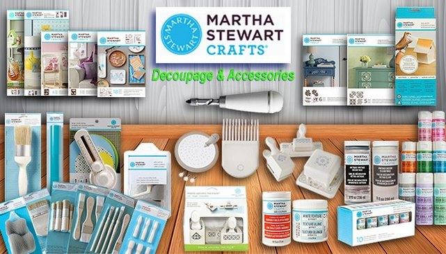 Martha Stewart Decoupage & Accessories